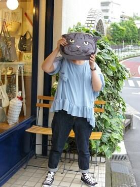 ROOTOTE GALLERY 代官山店|ROOTOTE  STAFFさんの(ROOTOTE|ルートート)を使ったコーディネート