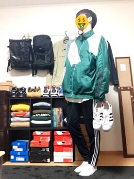 蓮さんの(adidas|アディダス)を使ったコーディネート