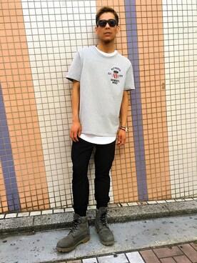 AVIREX 広島|MAKOTOさんの(AVIREX|アヴィレックス)を使ったコーディネート