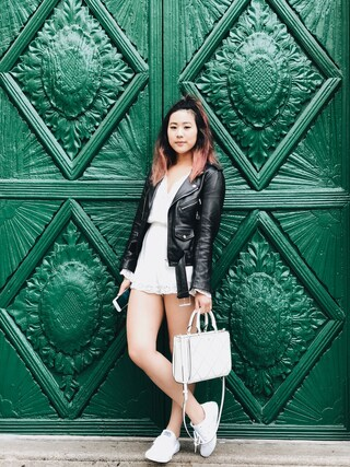(ZARA) using this Chantal Wong looks