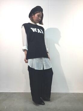 MIDWEST TOKYO WOMEN MIYUさんの(KIJIMA TAKAYUKI キジマ タカユキ)を使ったコーディネート