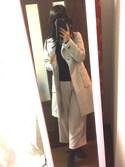 kaoriさんの「ビックカラーチェスターコート(CLEAR IMPRESSION|クリアインプレッション)」を使ったコーディネート