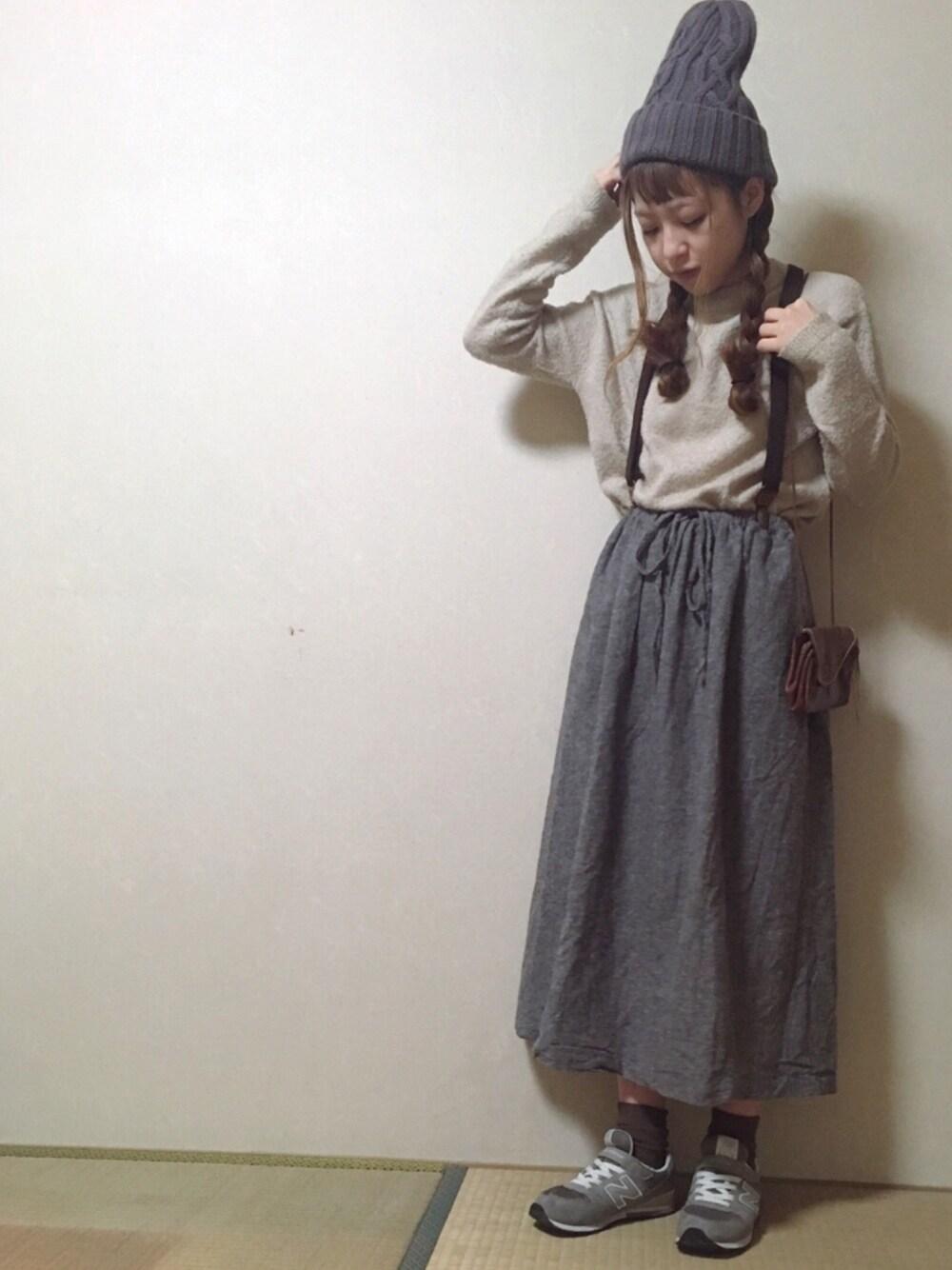 グレーニューバランス×グレースカート