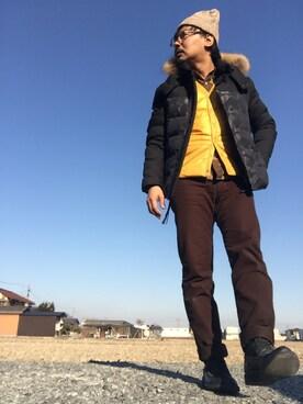 Ayato Kaminaさんの(TAKEO KIKUCHI|タケオキクチ)を使ったコーディネート