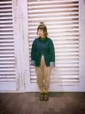 cony_y♡さんの「ONE WASH VOLUME DENIM JK(AMERI アメリヴィンテージ)」を使ったコーディネート