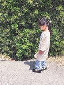 yuyuemさんの「テンセルデニムワイドパンツ(CIAOPANIC TYPY|チャオパニックティピー)」を使ったコーディネート