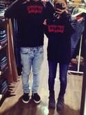 「Levi's® 710 Super Skinny Jeans(Levi's)」 using this SHIYORI . K looks