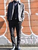 「Daniel Wellington Sheffield Rose Gold Black Leather Strap Watch - Black(Daniel Wellington)」 using this takuma looks