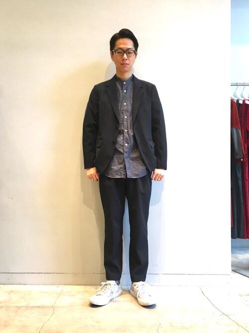 EN ROUTE GINZAH.Itabashiさんのテーラードジャケット「ENR ナイロンツイル2Bジャケット(EN ROUTE アンルート)」を使ったコーディネート