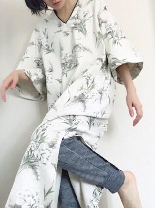 小林布結里さんの「【bodco】ボッコ/ パンツ【ユニセックス】(bodco ボッコ)」を使ったコーディネート