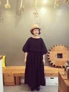 宮崎にある雑貨屋ambienceの13周年記念の企画に参加させていただきました。 ambienctoteとsabbatumとでコラボされたリネンバルーンスリーブプルオーバの黒を着ました�� とっても着やすいし、洗濯してもシワになりづらいのもすごくよかったです!! 今回はキュロットパンツとあわせましたがいろいろ着回しできそうで楽しみです。  6月中にご購入頂く際にmasumiのご紹介と記載頂ければ1000円offになるそうです。 http://item.rakuten.co.jp/1em-rue/73-ab-001/ wearでもIGでもフォローしてた憧れのお店の記念企画に参加できて嬉しかったです。ありがとうございます!!