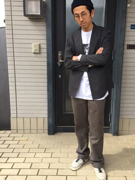 Takashi Hatanoさんの(S/DOUBLE|エスダブル)を使ったコーディネート