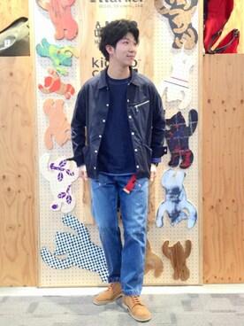 coen岡山店|coen わっきーさんの(coen|コーエン)を使ったコーディネート
