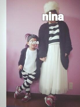 nina ☺ yunaさんの(Honeys|ハニーズ)を使ったコーディネート