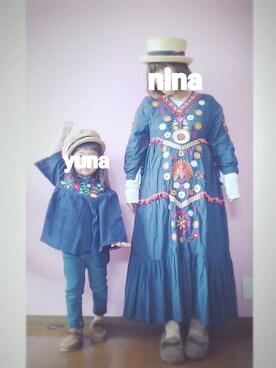 nina ☺ yunaさんの(GLOBAL WORK|グローバルワーク)を使ったコーディネート