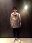 Kazukiさんの「WEGO/カラーレンズコンビサングラス(WEGO ウィゴー)」を使ったコーディネート