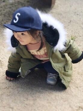 yuu☆さんの「CONVERSE / CHILD ALL STAR N Z OX(CONVERSE|コンバース)」を使ったコーディネート