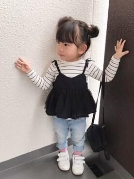 yuu☆さんの(petit main|プティマイン)を使ったコーディネート