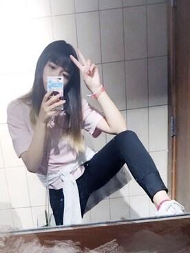 (UNIQLO) using this 小猫 looks
