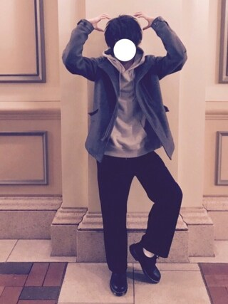 yu(ゆー)さんの「カットトレンチジャケット(nano・universe ナノユニバース)」を使ったコーディネート
