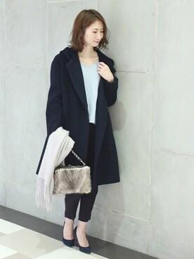 Spick & Span ルミネ新宿店|YuCOさんの「フーディコート◆(Spick & Span)」を使ったコーディネート