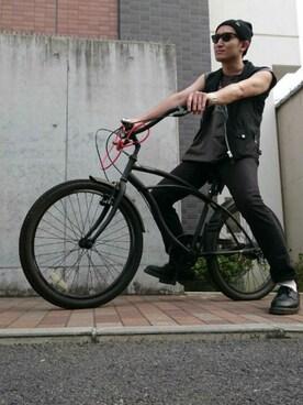 Takumi Endoさんの(NEW ERA|ニューエラ)を使ったコーディネート
