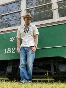 Takumi Endoさんの(VINTAGE|ヴィンテージ)を使ったコーディネート