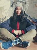 萝卜芝麻南瓜cytopiaさんの「WOMEN スーピマコットンメッシュクルーネックセーター(長袖)+E(ユニクロ|ユニクロ)」を使ったコーディネート