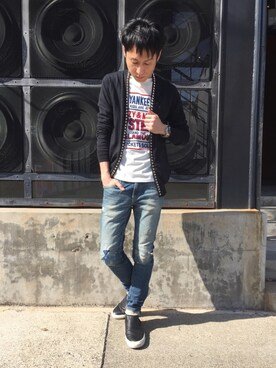 HYSTERIC GLAMOUR名古屋店|RYUさんの(HYSTERIC GLAMOUR|ヒステリックグラマー)を使ったコーディネート