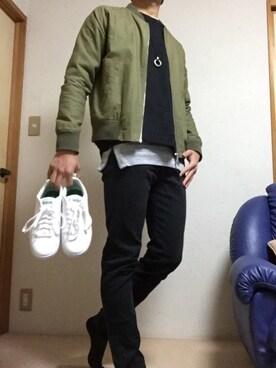 ズーキーホッキー(かずき)さんの(adidas|アディダス)を使ったコーディネート