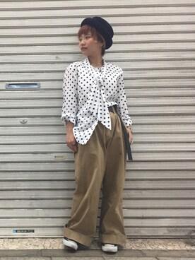NoT kyomachi|LADIES&ANTIQUES NoT kyomachiさんの(USED|ユーズド)を使ったコーディネート