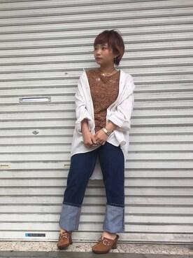 NoT kyomachi|LADIES&ANTIQUES NoT kyomachiさんの(POLO JEANS COMPANY|ポロジーンズカンパニー)を使ったコーディネート