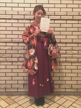 maruさんの(袴)を使ったコーディネート