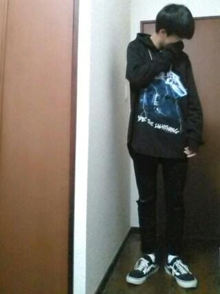 【daiki】さんの「WEGO/カーブチェーンネックレス(WEGO|ウィゴー)」を使ったコーディネート