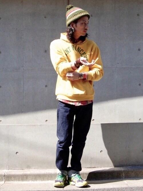 nesaiさんの「LEVIS VINTAGE CLOTHING-501XX 1947モデル-リンス(LEVI'S VINTAGE CLOTHING)」を使ったコーディネート
