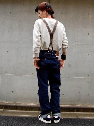 nesaiさんの「LEVIS VINTAGE CLOTHING-501XX 1933モデル-リジッド/MADE IN THE USA(Levi's|リーバイス)」を使ったコーディネート