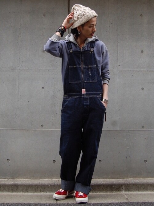 nesaiさんの「LEVI'S(R) VINTAGE CLOTHING-ZIP SWEAT WASHED BLUE(LEVI'S VINTAGE CLOTHING)」を使ったコーディネート