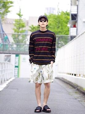 Lui's ルミネマン渋谷店|あらいさんの(CLANE|クラネ)を使ったコーディネート