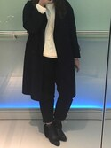 「Plait cable knit mockneck sweater(GAP)」 using this キャシー looks
