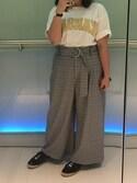 「綿アソートランドネームTシャツ【niko and ...】(niko and...)」 using this キャシー looks