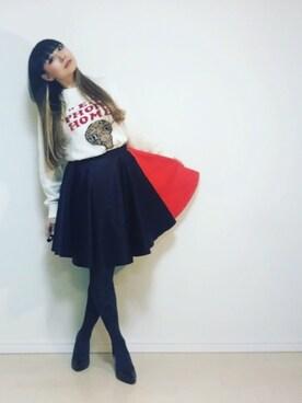 410さんの「Eclipse Skirt B(AKIRA NAKA|アンダーカバー)」を使ったコーディネート