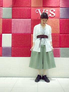 ViS 名古屋パルコ店|tomoyoさんの(ViS|ビス)を使ったコーディネート