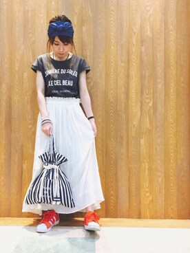 SHOO・LA・RUE|Maaakiさんの(☞ nail)を使ったコーディネート