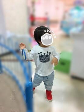 fujimaruさんの(babyGAP|babyGAP)を使ったコーディネート