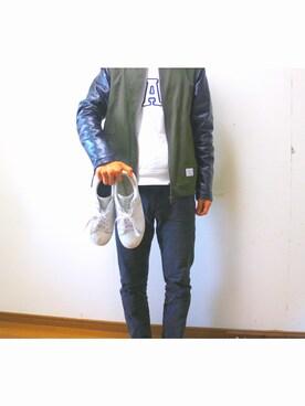 たーみーさんの(adidas|アディダス)を使ったコーディネート