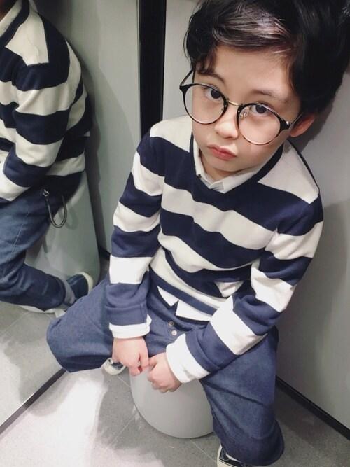 「4色4柄シャツ(BREEZE)」 using this Min looks