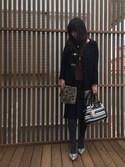 etsukoさんの「BLEUFORET ウール混コットンタイツ(BLEU FORET|ブルーフォレット)」を使ったコーディネート