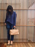 「Gucci Bamboo Shopper Mini Bag, Beige(Gucci)」 using this etsuko looks