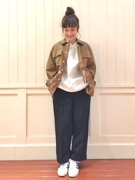 Bshop 新宿ルミネ店|waragaiさんの(AURALEE|オーラリー)を使ったコーディネート