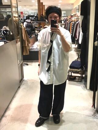 「オールド(Yohji Yamamoto)」 using this 寺田イス銀河 looks